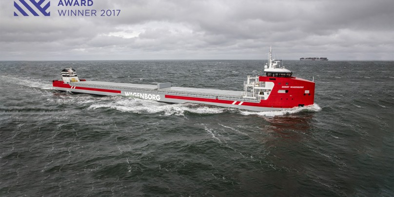 Floorganise congratulates Royal Niestern Sander with Shipping Award 2017