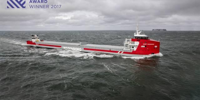 Floorganise congratulates Royal Niestern Sander with Shipping Award 2017
