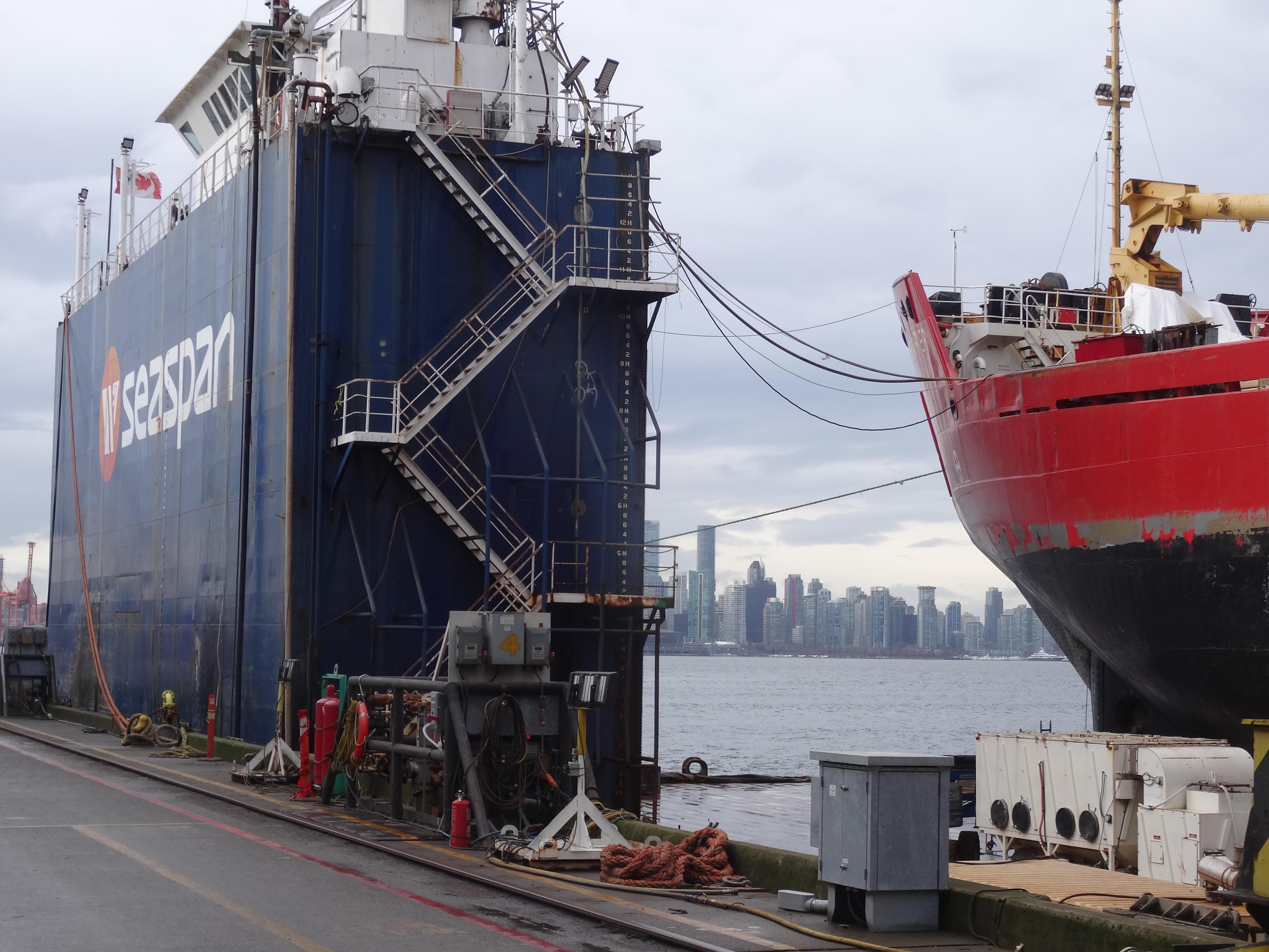 Floorganise visits Seaspan / Victoria Shipyard in Vancouver